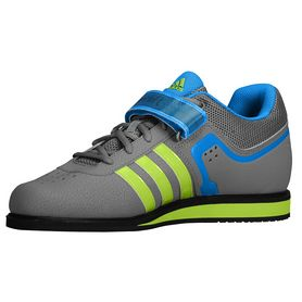 Фото 2 к товару Штангетки Adidas Powerlift II Weightlifting серые