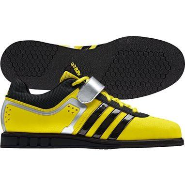 Штангетки Adidas Powerlift II Weightlifting желтые