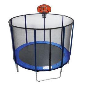 Батут с защитной сеткой и баскетбольным щитом EnergyFIT GB10103-10FT 305 см
