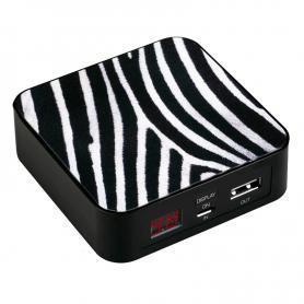 Устройство зарядное iBest CS86 c узором зебры