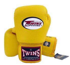 Перчатки боксерские Twins BGVL-3 желтые