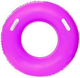 Фото 1 к товару Круг надувной с ручками Bestway 36084 (91 см) розовый