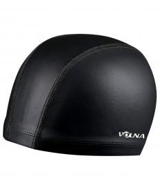 Шапочка для плавания Volna Perun черная