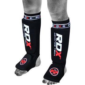 Защита для ног (голень + стопа) RDX Soft Black - L