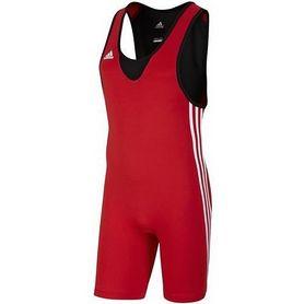 Трико борцовское мужское Adidas Base Wrestler красное