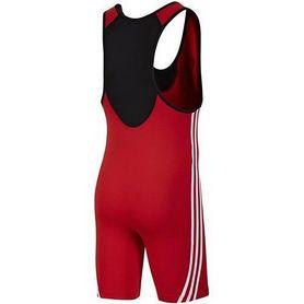 Фото 2 к товару Трико борцовское мужское Adidas Base Wrestler красное