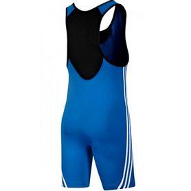 Фото 2 к товару Трико борцовское мужское Adidas Base Wrestler синее