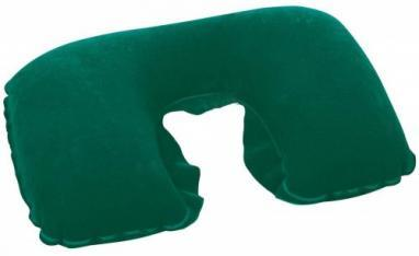 Дорожная подушка (опора для шеи) Bestway зеленая