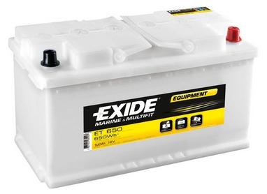 Аккумулятор тяговый свинцово-кислотный Exide Equipment ET 650 100 A/h
