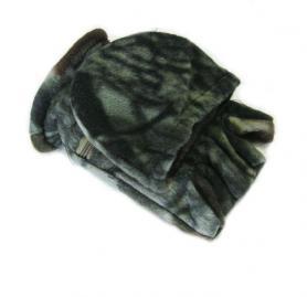 Фото 4 к товару Перчатки-варежки флисовые Fishman камуфлированные
