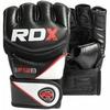 Перчатки ММА RDX Rex Leather Black - фото 4