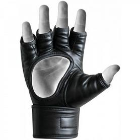 Фото 5 к товару Перчатки ММА RDX Rex Leather Black