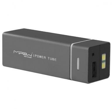 Устройство зарядное MiPow Power Tube 5500 серое