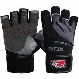 Перчатки для фитнеса RDX Pro Lift Black - M