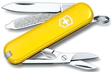 Нож швейцарский Victorinox Сlassic-SD желтый