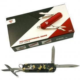 Нож швейцарский Ego Tools A03 камуфлированный
