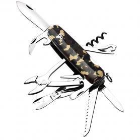 Фото 2 к товару Нож швейцарский Ego Tools A01.12 камуфлированный