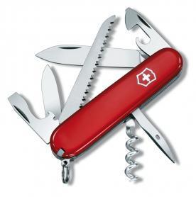 Нож швейцарский Victorinox Swiss Army Camper красный