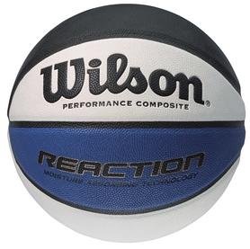 Мяч баскетбольный Wilson Reaction Bla/Wh/Blu BSKT SS14