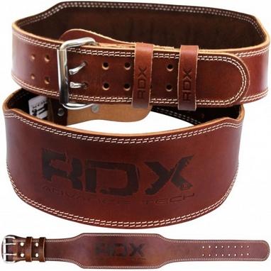 Пояс для тяжелой атлетики RDX 20407 Brown