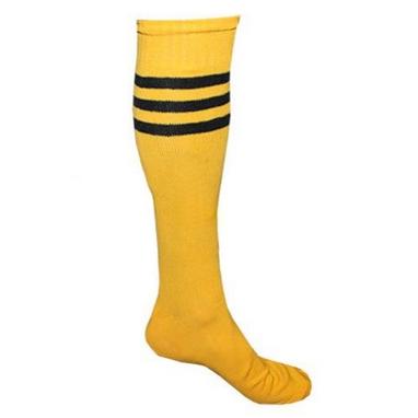 Гетры футбольные мужские CO-120 желтые