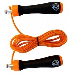 Скакалка нейлоновая RDX Steel Gel 11607-rdx оранжевая
