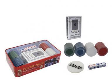 Набор для игры в покер Poker Chips, 100 фишек