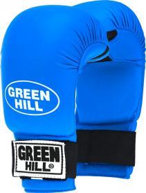 Накладки для карате Green Hill Cobra синие - L