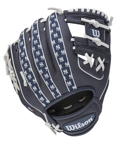 "Бейсбольная перчатка Wilson New York Yankees 10"" MLB SS14 левая"