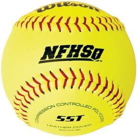 "Мяч бейсбольный Wilson NFSHSA 12"" Softballs (SST) SS14"