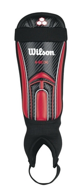 Защита для голени футбольная Wilson Hex Evo Shin Guard Adult SS14