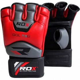 Фото 3 к товару Шингарты RDX Leather Red