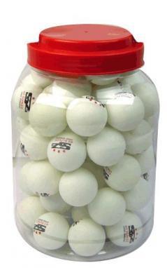 Набор мячей для настольного тенниса Champion 60 шт. белые