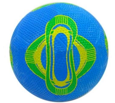 Мяч футбольный резиновый BA-4578