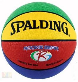 Мяч баскетбольный резиновый Spalding Rookie Gear 74281Z