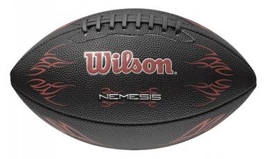 Мяч для американского футбола Wilson Nemesis Junior Football Black RD SS15