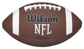Фото 1 к товару Мяч для американского футбола Wilson NFL Air Attack Off Size SS15