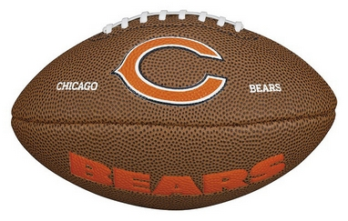 Мяч для американского футбола Wilson NFL Mini Team Logo Football CH SS15