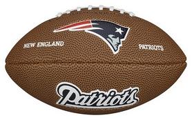 Мяч для американского футбола Wilson NFL Mini Team Logo Football NE SS15