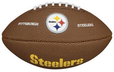 Мяч для американского футбола Wilson NFL Mini Team Logo Football PT SS15