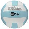 Мяч волейбольный Wilson Soft Play Volleyball Blue/White SS15 - фото 1
