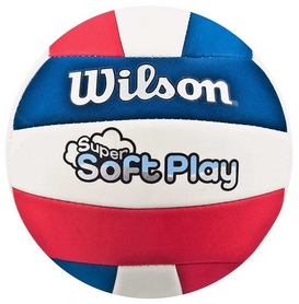 Мяч волейбольный Wilson Super Soft Play Volleyball RDWHBL Bulk SS14