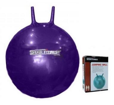 Мяч попрыгун с рожками Star 55 см