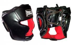 Шлем боксерский закрытый Everlast черный