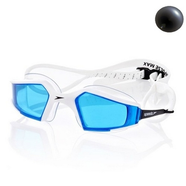 Очки для плавания Speedo Aquapulse Max Gog Au Black/Blue