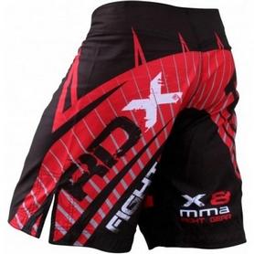 Фото 2 к товару Шорты для MMA RDX X8 Black 11316