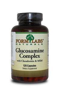 Комплекс для укрепления суставов Form Labs Naturals Glucosamine&Chondroitin&MSM (120 капсул)