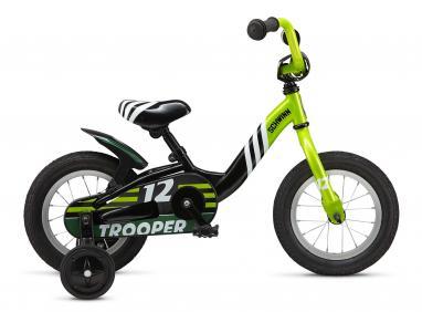 Велосипед детский Schwinn Trooper SKD-64-17 черный/лайм