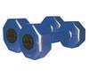 Гантели пластиковые Inter Atletika 2 шт по 1 кг - фото 1