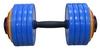 Гантель наборная Inter Atletika 23,82 кг цветная - фото 1